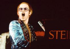 Elton John Oakland Coliseum Arena, Oakland, September 9, 1973. Источник - britrockbythebay.blogspot.ru