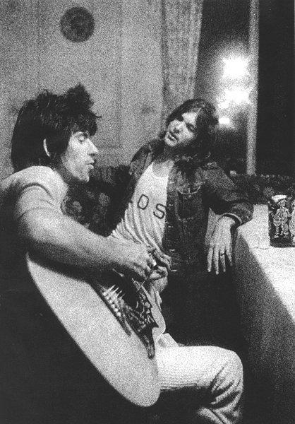 В 1968 году The Byrds приезжают в Британию, где и происходит знакомство Грэма с Китом Ричардсом.