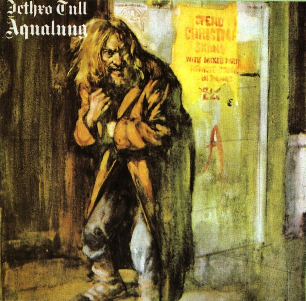 Jetro Tull Aqualang Album Cover