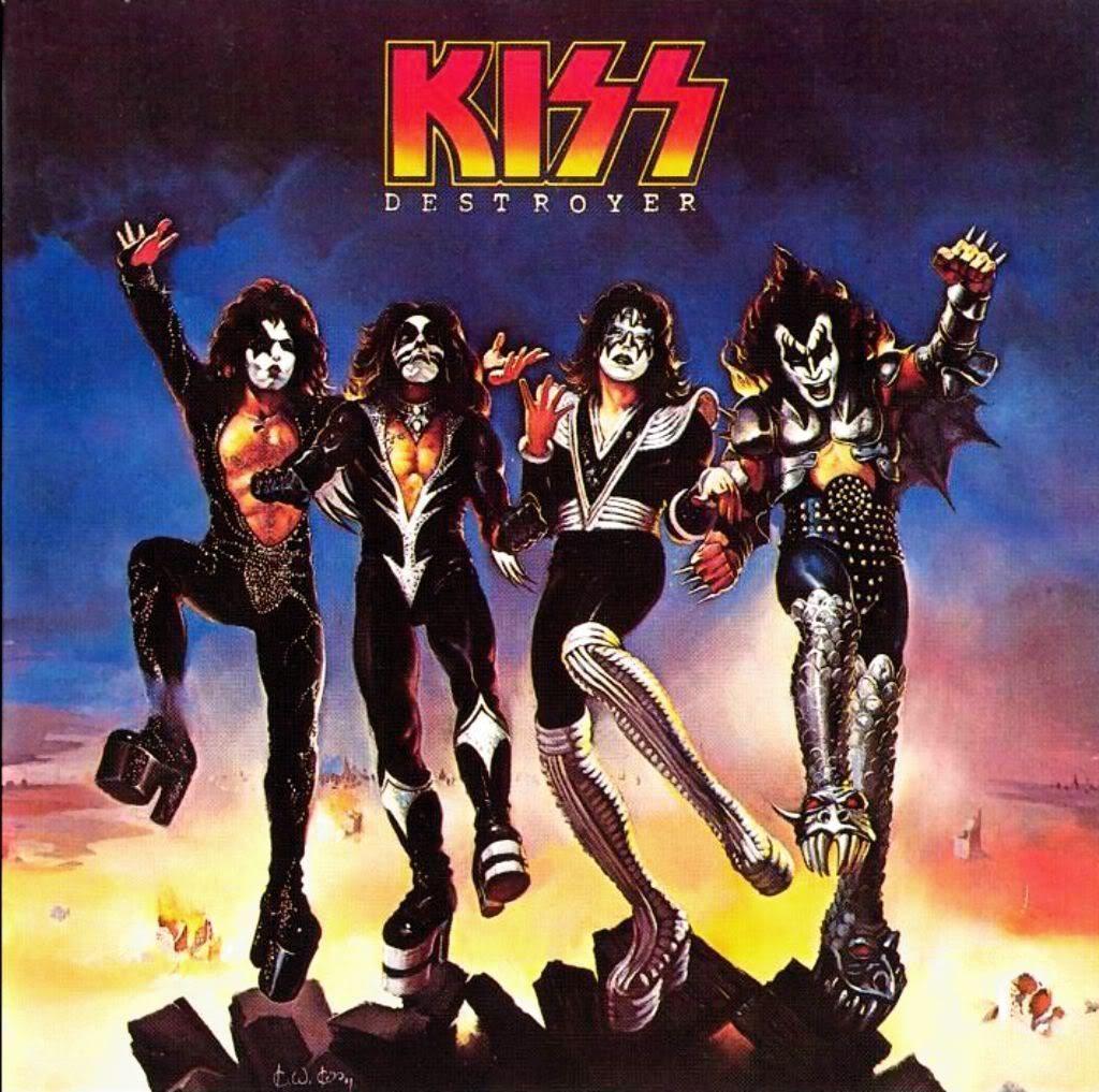 История обложки: Kiss «Destroyer» (1976)