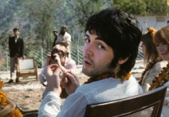 Paul McCartney Beatles In India