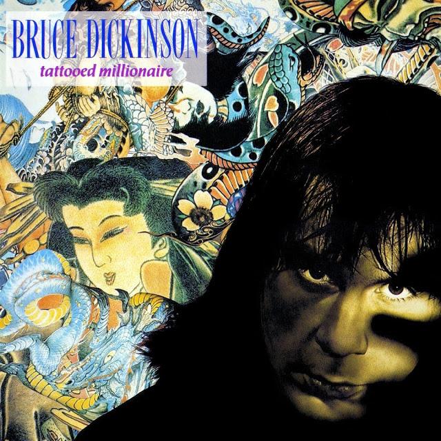 Bruce Dickinson - Tattooed Millionaire Энергичный и веселый первый сольный релиз.