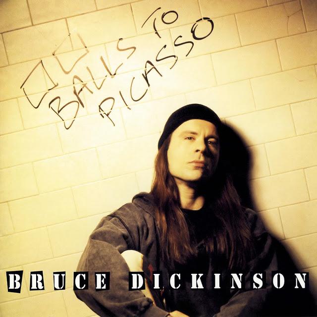 Bruce Dickonson - Balls То Picasso. Извилистый путь самопознания, отображенный в шизофреничной форме.
