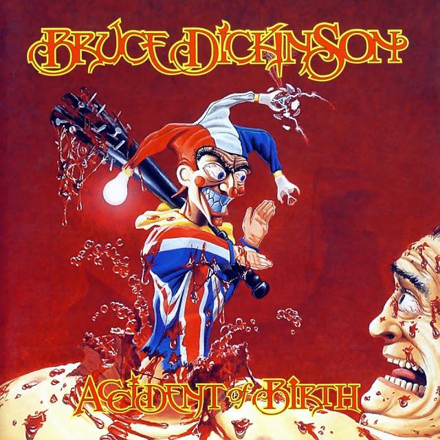 Bruce Dickonson - Accident Of Birth. Предсказуемое возвращение к стилю, который наиболее близок Брюсу. В качестве бонуса — Эдриан Смит.