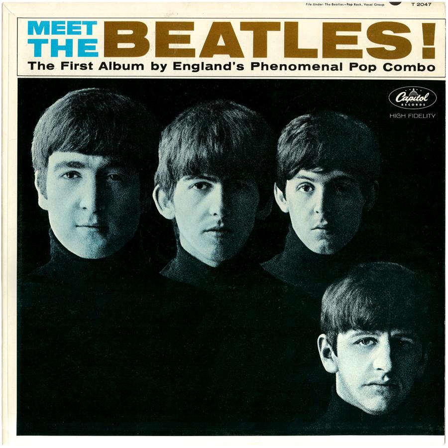 Meet The Beatles Album Cover