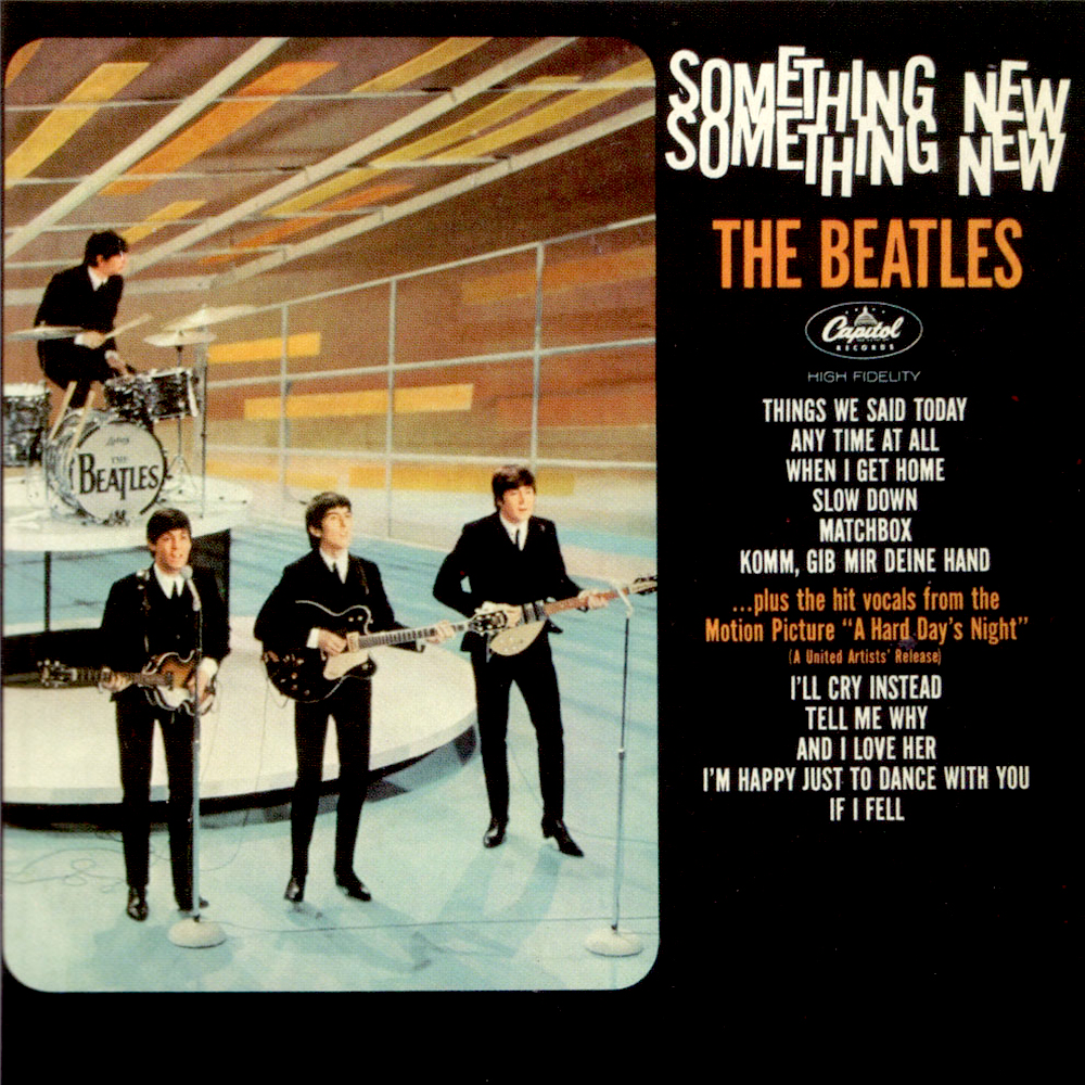 The Beates US Albums - Something New