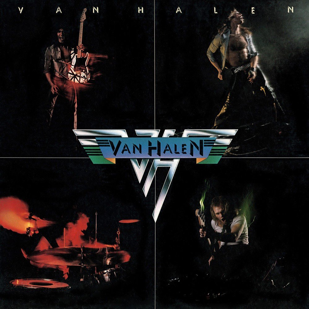 Van Halen 1978 Album Cover