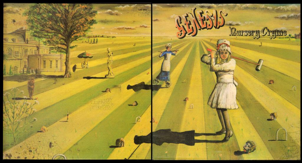 История обложки: Genesis «Nursery Cryme» (1972)
