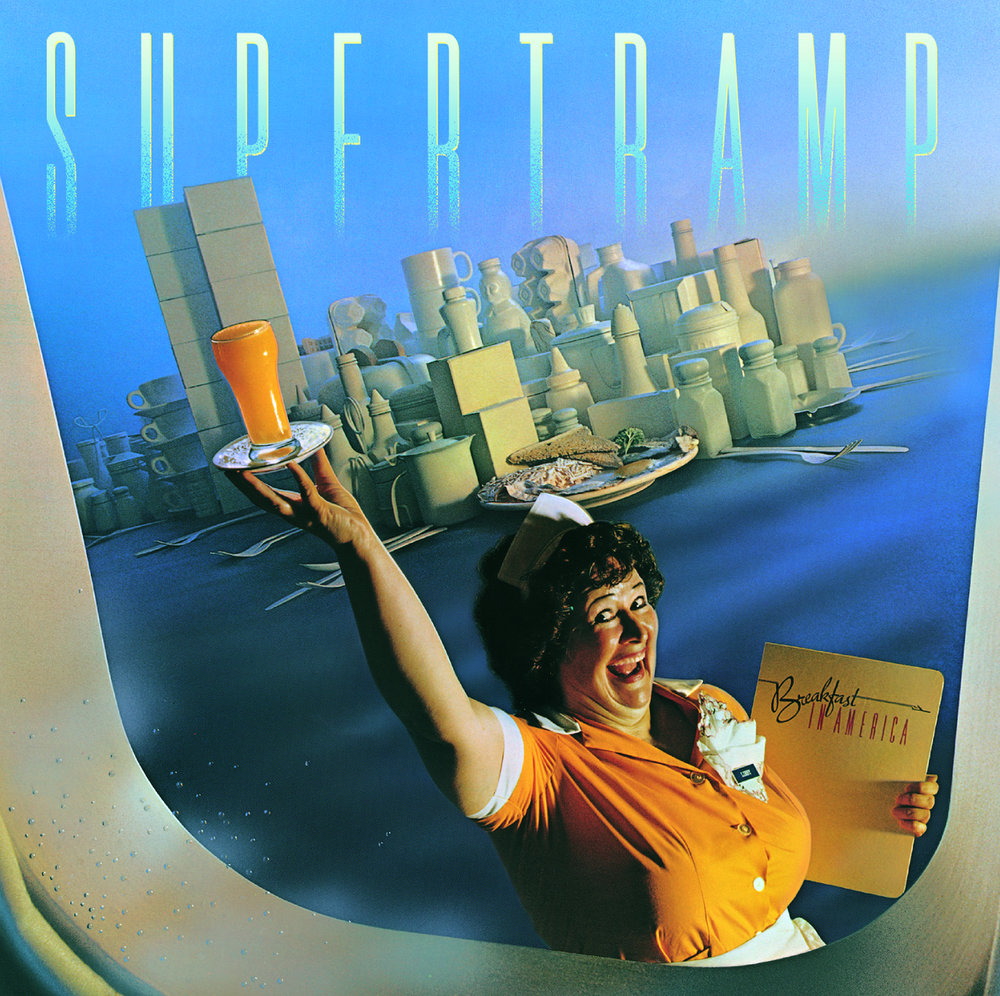 История обложки: Supertramp – Breakfast in America (1979)