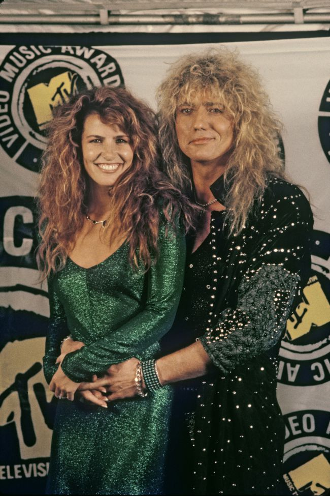 David Coverdale and Tawny Kitaen. Source: loudersound.com
