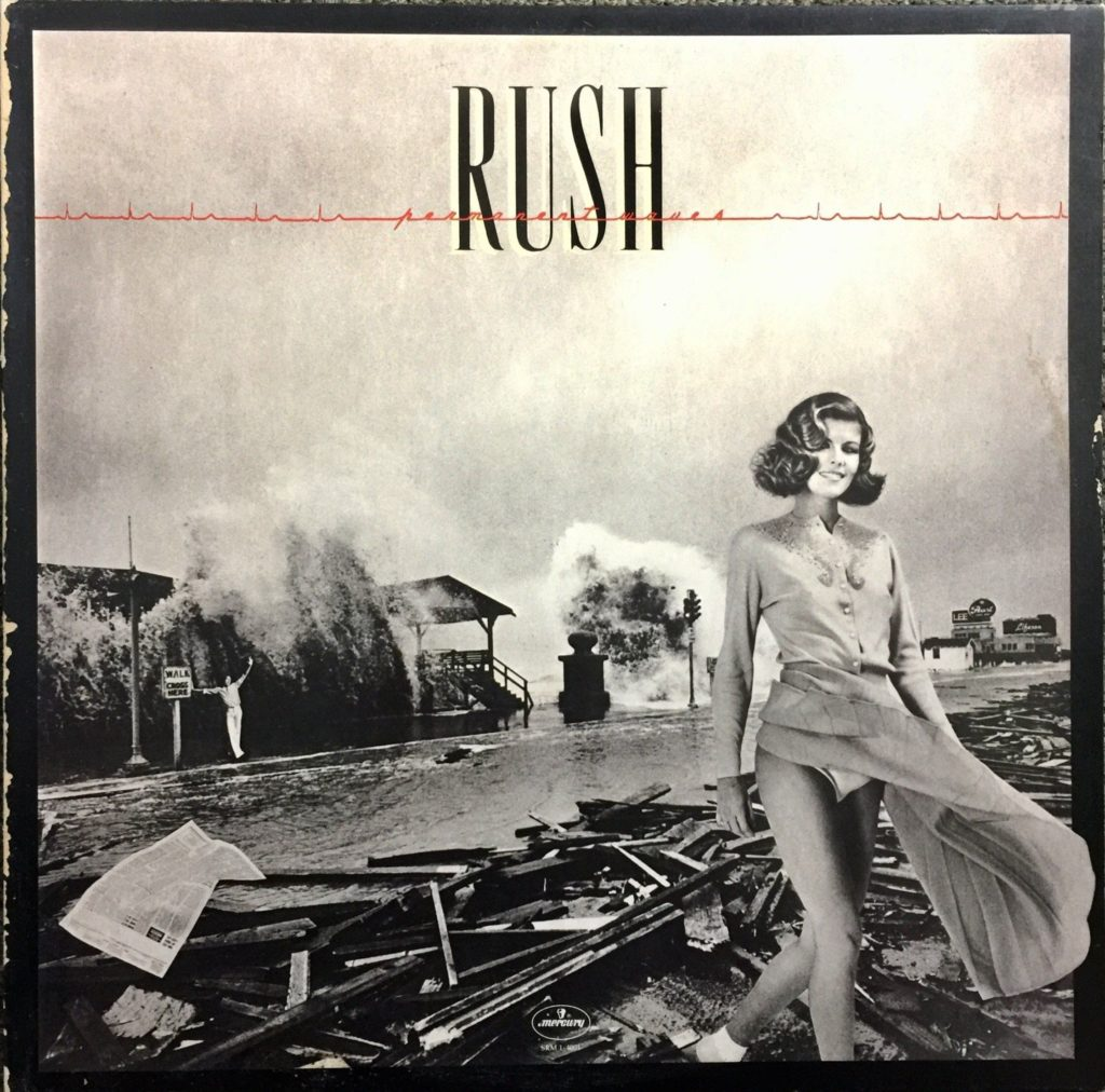 Rush - Permanent Waves (1980) album cover. Source: Pinterest.com