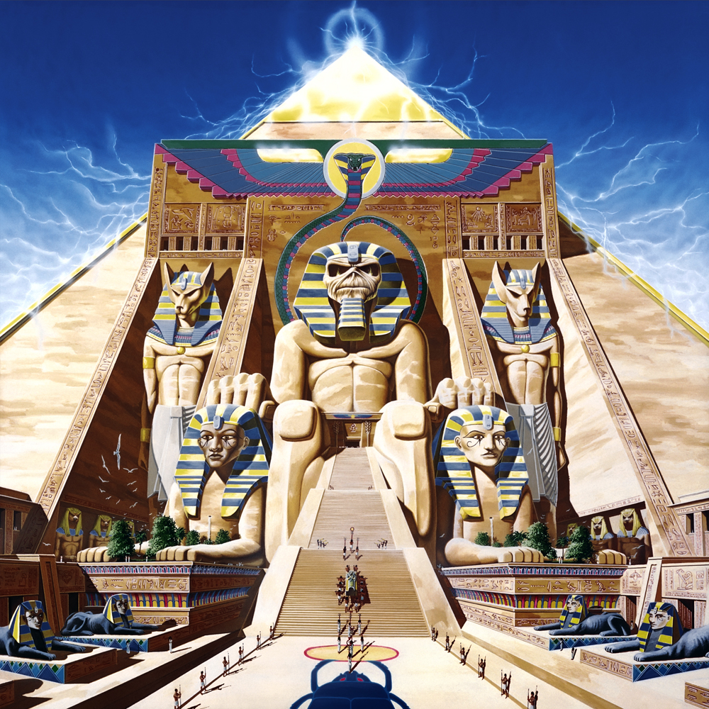 Iron Maiden 1984 Powerslave, Source: derekriggs.com