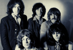 Deep Purple 1968, Photo: Classic Rock In Pics, @crockpics on Twitter.com