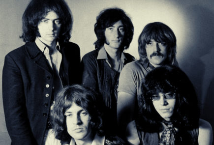 Deep Purple 1968, Photo: Classic Rock In Pics, @crockpics on Twitter.com