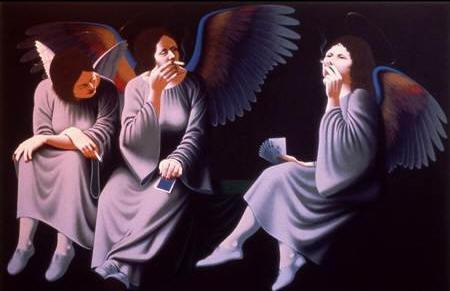 """Оригинальная, не обрезанная версия работы Линна """"Smoking Angels"""". Источник: www.black-sabbath.com"""