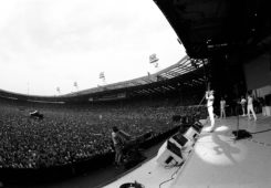 Queen performs at Live Aid in London in 1985. (Neal Preston)
