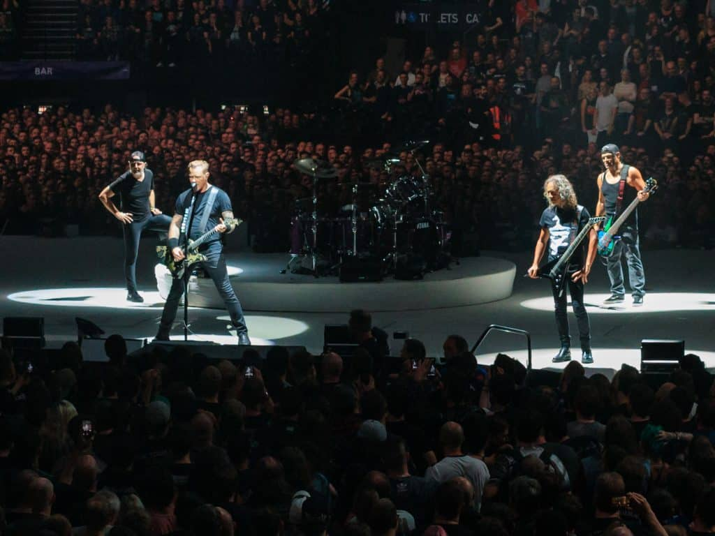 Metallica Live at The O2, London, October 2017. Источник: Wikimedia.org