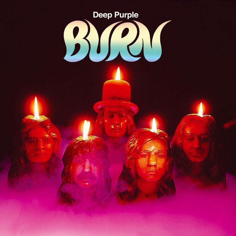 История обложки: Deep Purple – Burn (1974)